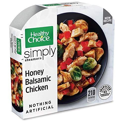 (Healthy Choice Simply Steamers Frozen Dinner, Honey Balsamic Chicken, 9.9 Ounce)