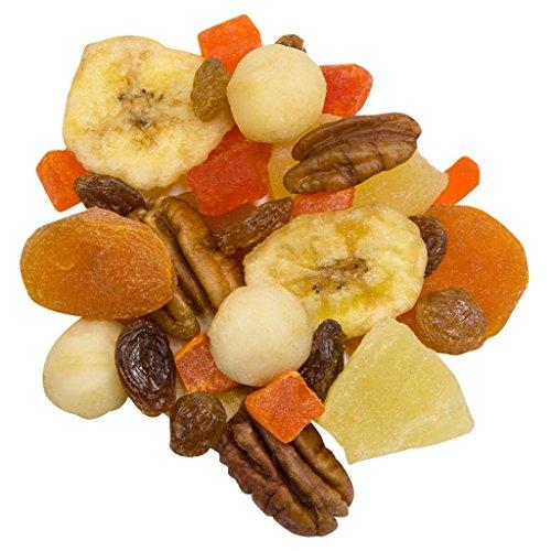 Truly Good Foods Tahitian Gold - 1lb bag | Snack Mix | Pineapple, Banana Chips, Turkish Apricots, Pecans, Golden Raisins, Papaya, Walnuts, Brazil Nuts, ()