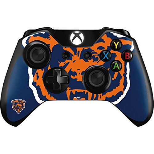 (Skinit Chicago Bears Retro Logo Xbox One Controller Skin - Officially Licensed NFL Gaming Decal - Ultra Thin, Lightweight Vinyl Decal Protection)