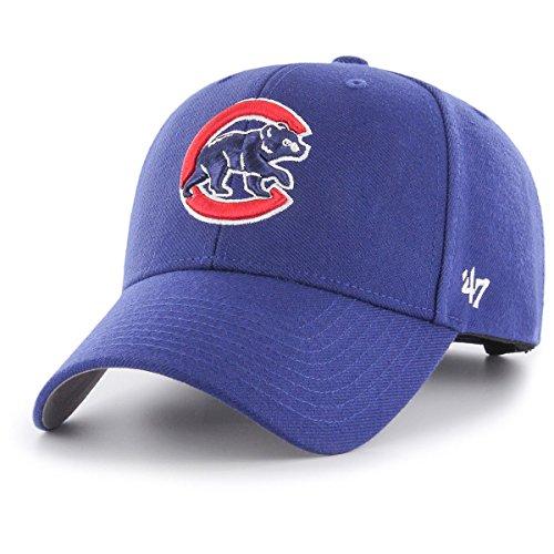 curva Brand Gorra lisa azul 47 de Blue Chicago visera Cubs de MLB ZTwa5