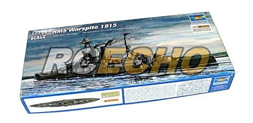 RCECHO® TRUMPETER Military Model 1/700 War Ship HMS Warspite 1915 Hobby 05780 P5780 with RCECHO® Full Version Apps Edition