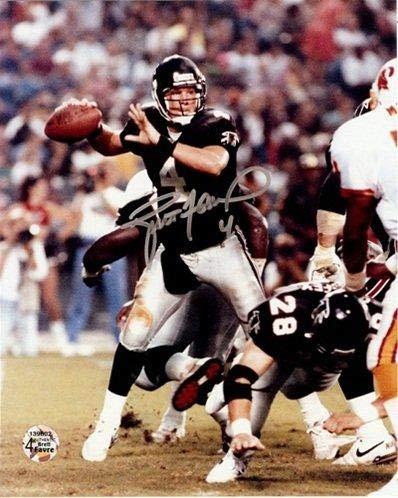 - Brett Favre Autographed Photograph - 8x10 - Autographed NFL Photos