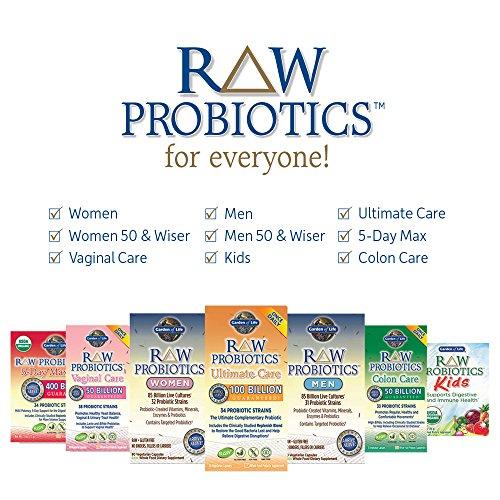 Garden Of Life Raw Probiotics Women Acidophilus Live Cultures Probiotic Created Vitamins