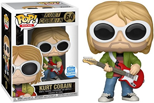 Funko POP! Kurt Cobain with Sunglasses #64 Funko Shop Exclusive - Exclusive Glass