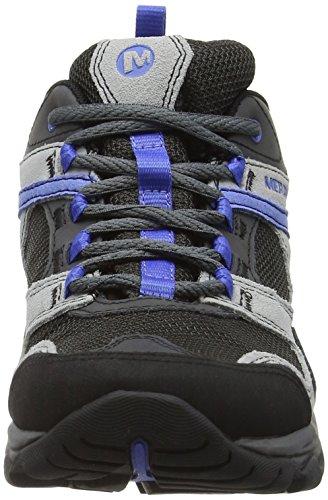 Merrell Mujer Kimsey Gore-Tex Zapatos de Low Rise Senderismo Multicolore (Charcoal)