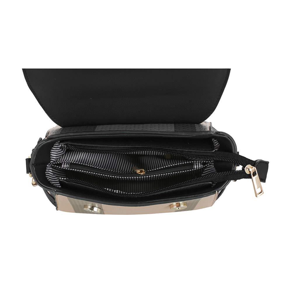 SG SUGU Small Plaid Lightweight Crossbody Bag Fashion Backpack Top Handle Purse