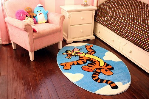 Disney Tigger on Clouds Area Rug, High Pile Rug, 39x58in