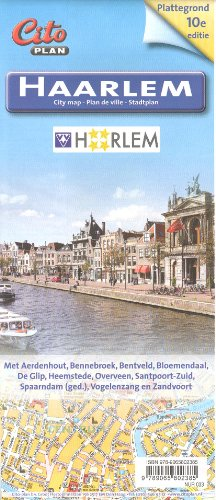 Price comparison product image Haarlem (Netherlands) Conurbation 1:10, 400 Street Map CITO