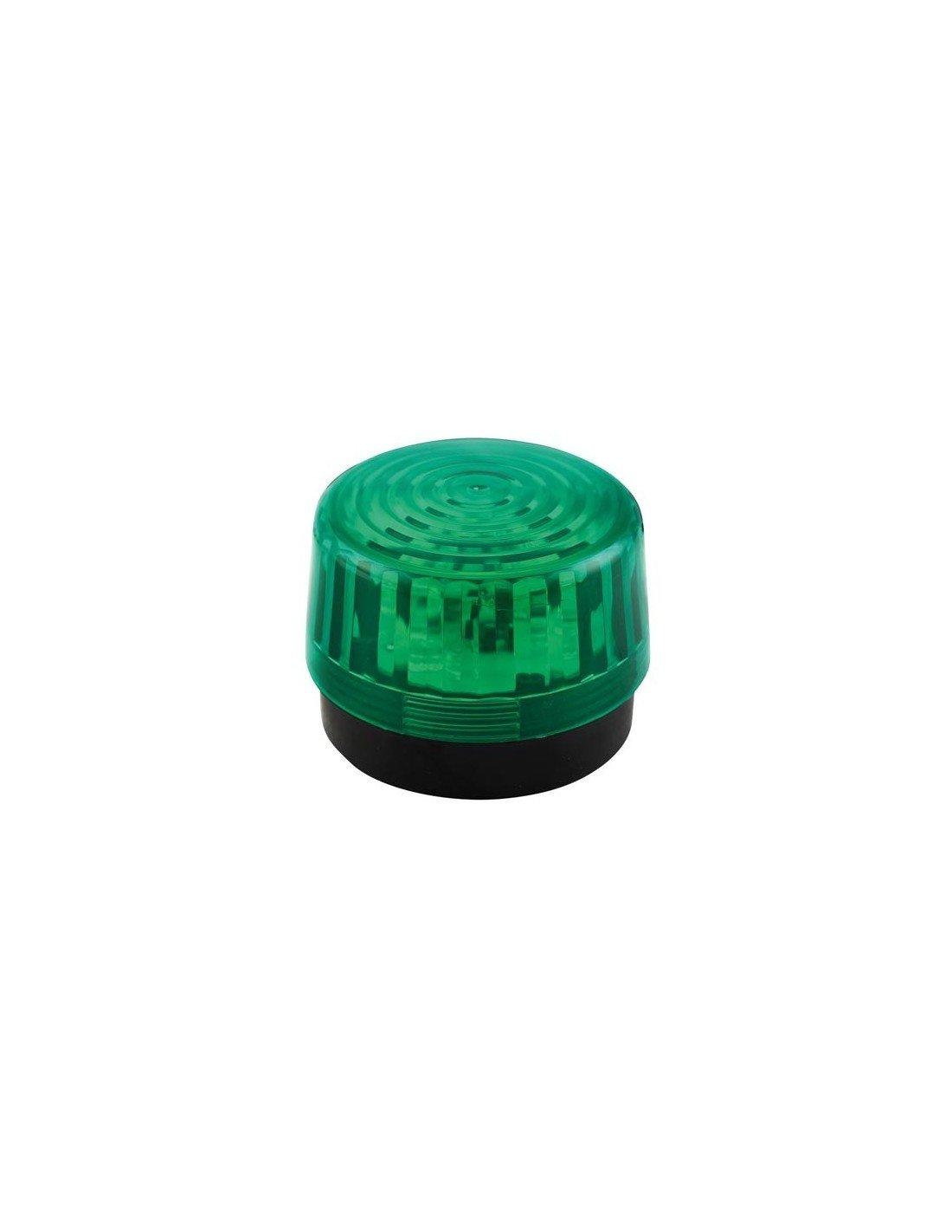 Velleman 640919 LED Blitzlicht, 12 VDC, Grü n HAA100GN