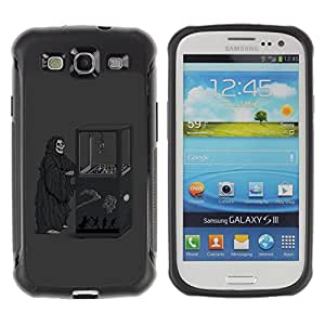 ZAKO Cases / Samsung Galaxy S3 I9300 / Death Game Machine / Robusto Prueba de choques Caso Billetera cubierta Shell Armor Funda Case Cover Slim Armor