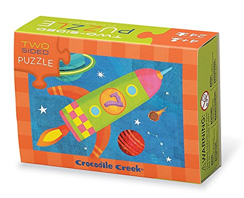 (Crocodile Creek 24-pc Two-Sided Puzzle/Solar System)