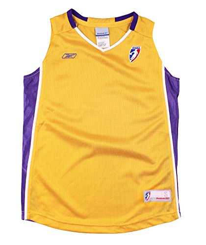 Los Angeles Sparks WNBA Youth Big Girls Blank Basketball Jersey - Gold (X-Large (16)) -