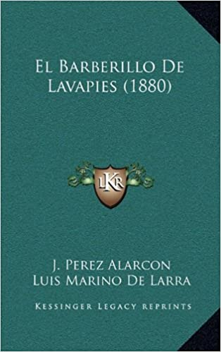 Book El Barberillo de Lavapies (1880)