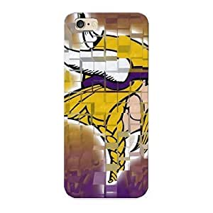989b7365219 Anti-scratch Crooningrose Protective Minnesota Vikings Nfl Team Logos X Pixels Case For Iphone 4/4S Cover