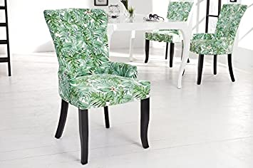 Design Esszimmerstuhl dunord design esszimmerstuhl sessel dimension provence grün blätter