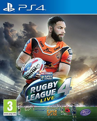 Lion Rugby (Rugby League Live 4 - Playstation 4 PS4)