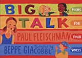 Big Talk, Paul Fleischman, 0763638056