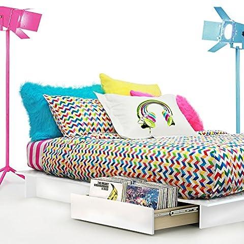Wake Up Frankie Sound and Sleep Duvet Set, Full/Queen (Wake Up Frankie)