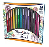PaperMate Flair! 14 Assorted Colors Felt Tip Pens