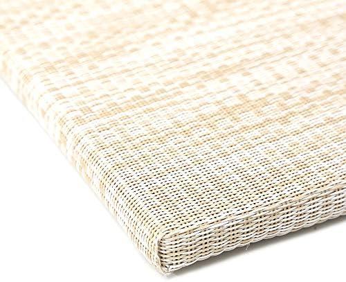 こうひん 縁なし 置き畳 ユニット畳 簡単に置くだけ textilene生地 厚さ1.7cm すべり止め付き55x55cm 4枚セット