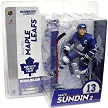 McFarlane Toys NHL Sports Picks Series 9 Action Figure Mats Sundin (Toronto Maple Leafs) Blue Jersey Variant