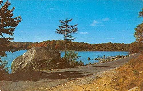 Star Lake New York Coreys Rock Waterfront Antique Postcard K7876190