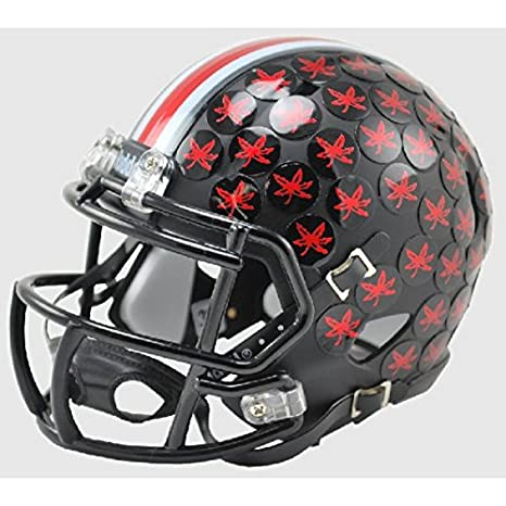 b81327b047a Image Unavailable. Image not available for. Color  Ohio State Buckeyes 2015  BLACK Alternate Riddell Speed Mini Football Helmet