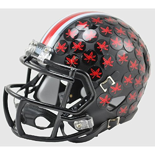 Ohio State Riddell Mini Helmet (Ohio State Buckeyes 2015 BLACK Alternate Riddell Speed Mini Football Helmet)