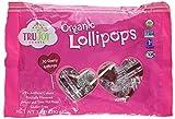 Trujoy Sweets Organic Lollipops Hearts Cherry