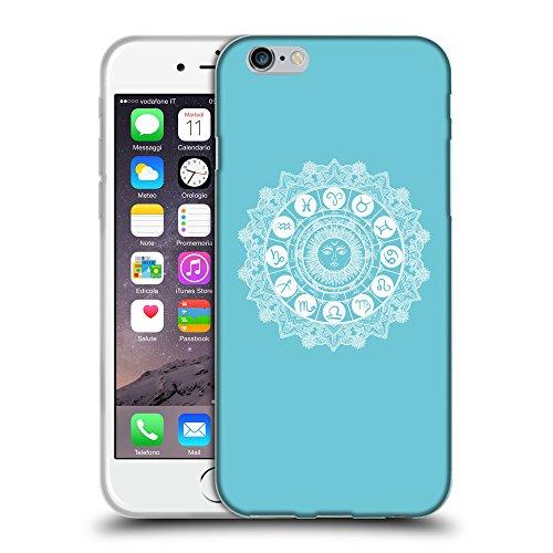 "GoGoMobile Coque de Protection TPU Silicone Case pour // Q10060627 Zodiaque 2 Cyan // Apple iPhone 6 PLUS 5.5"""