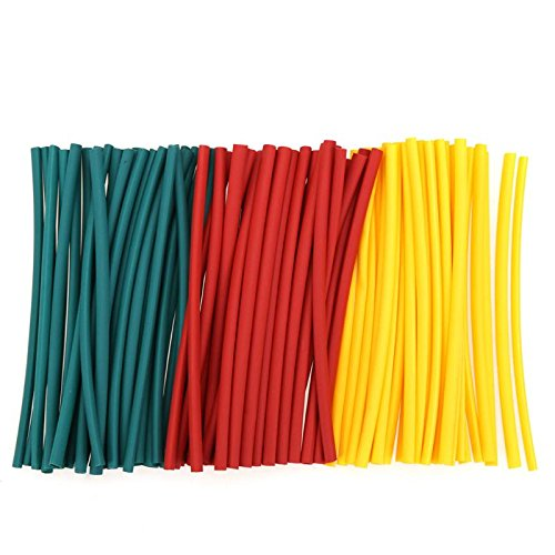 GINZU 180pcs/set Heat Shrink Tubing Insulation Shrinkable Tube Assortment Electronic Wrap Wire Cable Sleeve Kit 100% NEW by GINZU (Image #3)