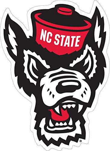 NC State Wolfpack Head Ultra Durable Decal (2