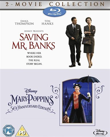 Saving Mr Banks & Mary Poppins 50th Anniversary Edition [Blu-ray] [Region Free] [UK Import]