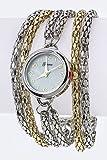 Best Fashion Destination Fashion Jewelry Of 2 Tones - Trendy Fashion Jewelry Layer Chains Bracelet Watch By Review