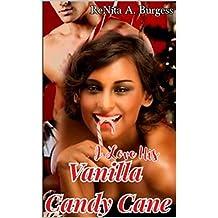 I Love His Vanilla Candy Cane