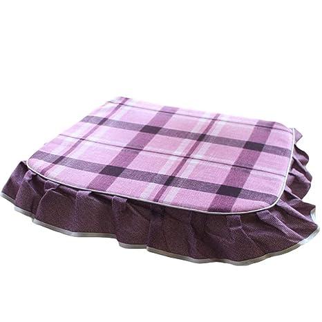 Amazon.com: Aland Fashion - Cojín para silla de comedor ...