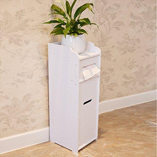GL&G Bathroom Furniture Bathroom high-density wood-plastic panels Shelf Landing Waterproof toilet toilet multi-function side cabinet