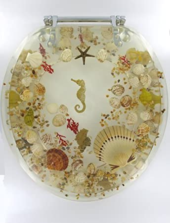 Sea Shell Lucite Tropical Fish Toilet Seat Seashell Standard SizeSea Shell Lucite Tropical Fish Toilet Seat Seashell Standard Size  . Tropical Fish Toilet Seat. Home Design Ideas