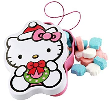 Hello Kitty Christmas.Amazon Com Hello Kitty Christmas Candy Tin Candy Mints