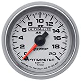 Auto Meter 4945 Ultra-Lite II 2-1/16'' 0-2000 F Full Sweep Electric Pyrometer