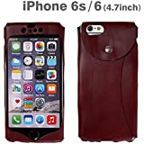 iPhone6用レザーケース[i6 Wear]ワイン/wine