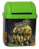 ninja desk - Teenage Mutant Ninja Turtles Desktop Waste Bin Tin -