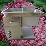 Commercial Grade Automatic Meat Processing Equipment Stainless Steel Restaurant Meat Cutting Machine, Cutter, Slicer 3 Cutting Blades