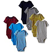 Carter's Baby Boys' 7 Pack Bodysuits (Baby) - Boy Assorted - 3M