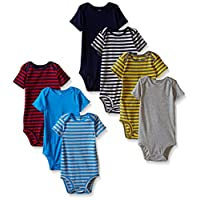 Carter's 7 Pack Bodysuits (Baby) - Boy Assorted-3 Months