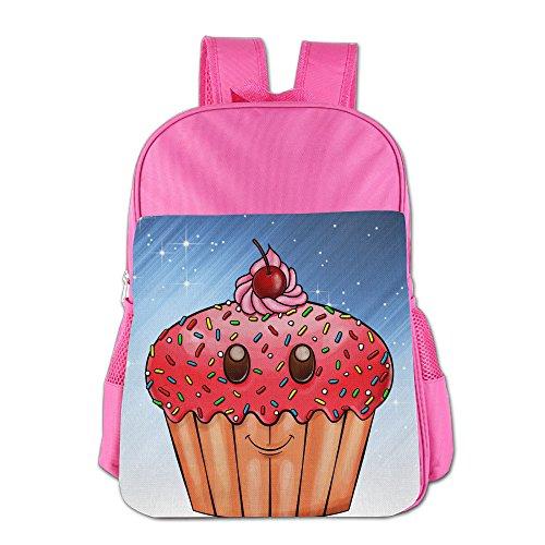 Ongshuquwe Cute Cupcake Leisure Children Cute Cartoon Schoolbag Pink