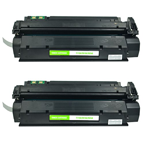 NineLeaf 2 Pack Compatible for 13A Q2613A Black Toner Cartridge Work in Laserjet 1300 1300n 1300xi Printer