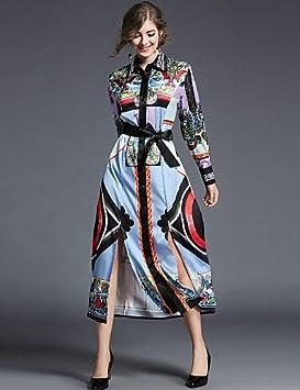 JIALELE Vestido Fiesta Mujer,De Fiesta Mujer Vestido De Fiesta,Imprimir Collar De La