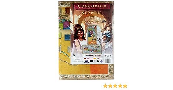 CONCORDIA - CRETA AEGYTUS (CASTELLANO): Amazon.es: Juguetes y juegos