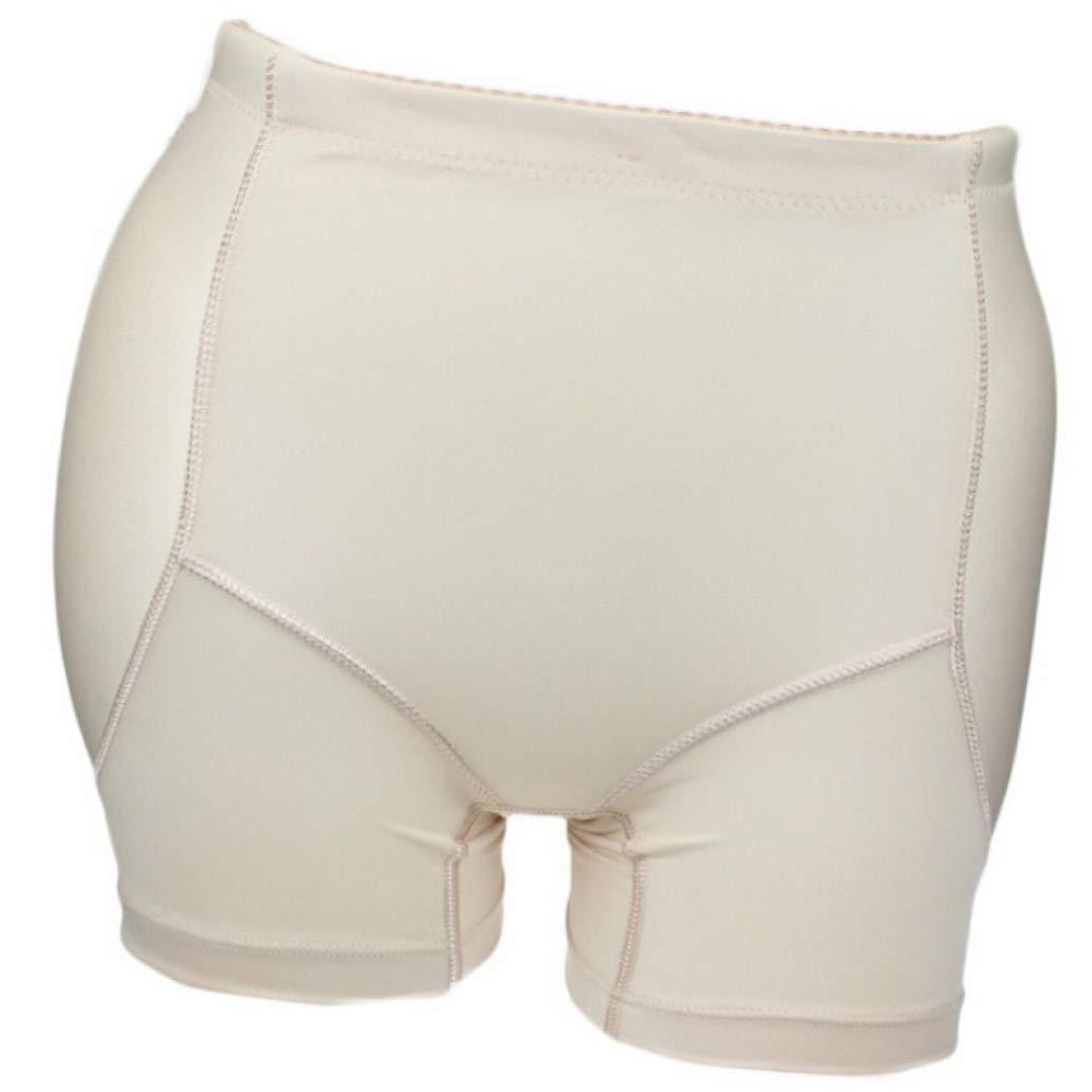 XOKIMI Women Push-Up Padded Hip Enhancer Shapewear Tummy Control Waist Cincher Panty Boyshort